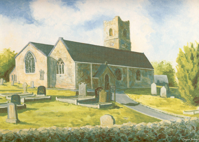 Ardess Church Painting
